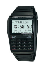 Beli Casio Databank Dbc 32 1A Jam Tangan Unisex Black Resin Band Seken
