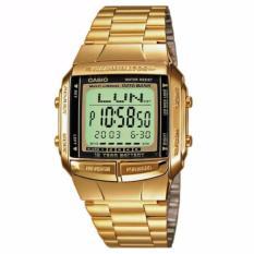 Harga Casio Db 360G 9Adf Jam Tangan Unisex Gold Stainless Steel
