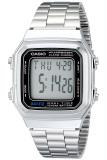 Review Casio Digital A178Wa 1Adf Jam Tangan Unisex Silver Stainless Terbaru