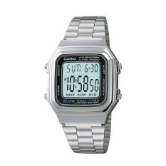 Harga Casio Digital A178Wa 1Adf Women S Watch Silver Original