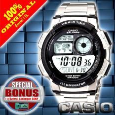 Casio Digital AE-1000W-1AVDF - Jam Tangan Pria - Resin Original