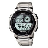 Jual Casio Digital Ae 1000Wd 1Av Men S Watch Silver Branded Original