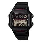 Jual Casio Digital Ae 1300Wh 1A2 Jam Tangan Pria Black Resin Band Termurah