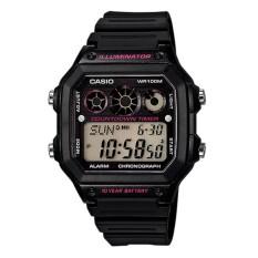 Harga Casio Digital Ae 1300Wh 1A2 Jam Tangan Pria Black Resin Band Origin