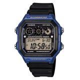 Beli Casio Digital Ae 1300Wh 2Av Men S Watch Black Blue Online Banten
