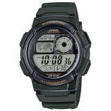 Jual Casio Digital Jam Tangan Pria Hijau Strap Karet Ae 1000W 3A Online