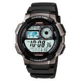 Beli Casio Digital Jam Tangan Pria Hitam Resin Band Ae 1000W 1Bv Lengkap