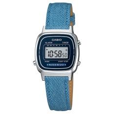 Daftar Harga Casio Digital Jam Tangan Wanita Biru Tua Strap Kulit La 670Wl 2A2 Casio