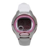 Beli Casio Digital Jam Tangan Wanita Putih Pink Strap Karet Lw 200 7Av Casio