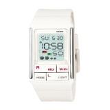 Kualitas Casio Digital Jam Tangan Wanita Putih Strap Karet Ldf 52 7A Casio