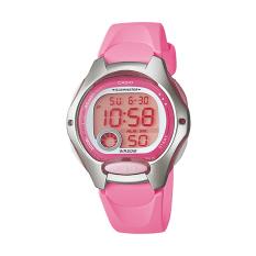 Beli Casio Digital Lw 200 4Bv Jam Tangan Wanita Pink Silver Resin Band Yang Bagus