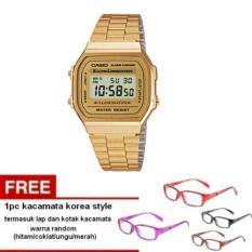 casio-digital-watch-a168wg-9wdf-jam-tangan-wanita-gold-stainless-steel-free-1pc-kacamata-korea-style-warna-random-termasuk-kotak-dan-lap-kacamata-gold-1283-86916711-338f1736cf41fc0e7ac37b9f694e563a-catalog_233 Inilah Harga Jam Tangan Casio Wanita Warna Gold Teranyar waktu ini