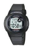 Toko Casio Digital Watch F 200W 1Adf Unisex Watch Karet Hitam Murah Banten