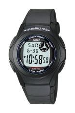 Beli Casio Digital Watch F 200W 1Adf Unisex Watch Karet Hitam Casio Murah