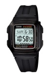 Promo Casio Digital Watch F 201Wa 1Adf Jam Tangan Unisex Hitam Karet Akhir Tahun
