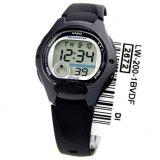 Spesifikasi Casio Digital Watch Lw 200 1Bvdf Jam Tangan Wanita Resin Hitam Online