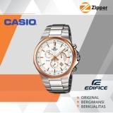 Kualitas Casio Edifice Chronograph Jam Tangan Pria Analog Efr 500Sg Tali Stainless Steel Casio Edifice
