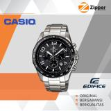 Review Toko Casio Edifice Chronograph Jam Tangan Pria Analog Efr 516D Tali Stainless Steel
