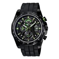 Jual Casio Edifice Ef 523Pb 1Av Jam Tangan Pria Rubber Black Casio Edifice Original