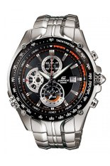 Review Casio Edifice Ef 543D 1Avdf Jam Tangan Pria Silver Stainless Steel Casio Edifice