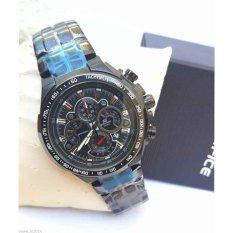 Casio Edifice EF-554D-7AVDF Blue Dial Chronograph Men's Wrist Watch