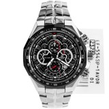 Casio Edifice Ef 554Sp 1Av Silver Stainless Steel Casio Diskon 30