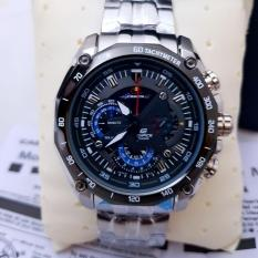 Casio Edifice EFR 550D - 1A2VUDF Stainless Silver Dial Black (Limited Edition) Series