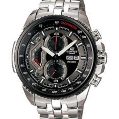 Spesifikasi Casio Edifice Efr 558D 1Av Jam Tangan Pria Silver Black Bagus