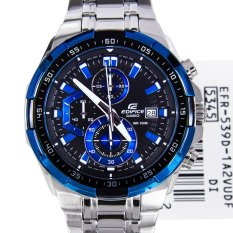 Casio Edifice Men's Silver Stainless Steel Strap Watch EFR-539D-1A2
