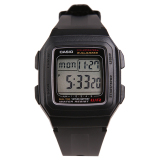 Promo Casio F 201Wa 1Adf Youth Series Jam Tangan Black Casio Terbaru