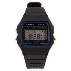 Beli Casio F 91W 1Dg Classic Jam Tangan Black Yang Bagus