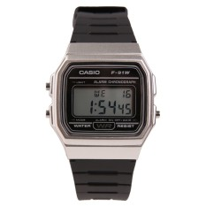 Toko Casio F 91Wm 7Adf Vintage Series Jam Tangan Black Metal Casio Di Indonesia