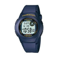 CASIO F200W2A 10Year Battery Life Sporty Jam Tangan Pria  Blue