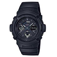Jual Casio G Shock Analog Digital Jam Tangan Pria Hitam Strap Karet Aw 591Bb 1A Original