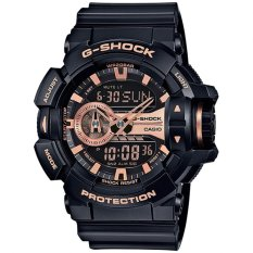 Harga Casio G Shock Analog Digital Jam Tangan Pria Hitam Strap Karet Ga 400Gb 1A4 Online Dki Jakarta