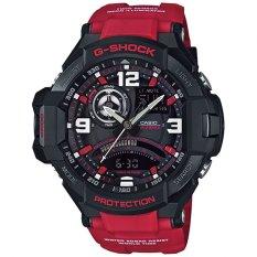Jual Beli Casio G Shock Analog Digital Jam Tangan Pria Merah Strap Karet Ga 1000 4B Baru Dki Jakarta