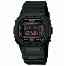 Casio G-Shock DW-5600MS-1DR - Jam Tangan Pria - Black - Resin Band