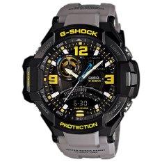 Diskon Produk Casio G Shock G Aviation Gravity Defier Ga 1000 8A Analog Digital Men S Watch Grey