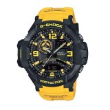 Review Casio G Shock G Aviation Gravity Defier Jam Tangan Pria Kuning Resin Ga 1000 9B