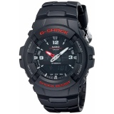 Casio G Shock G100 Bv Men S Black Resin Sport Watch Murah