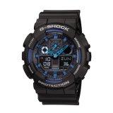 Toko Casio G Shock Ga 100 1A2 Jam Tangan Pria Black Blue Terlengkap Jawa Timur