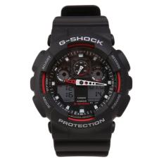 Ulasan Tentang Casio G Shock Ga 100 1A4Dr Camouflage Series Jam Tangan Black