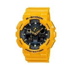 Jual Cepat Casio G Shock Ga 100A 9Adr Bumblebee Edition Men S Watch Yellow
