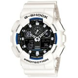 Harga Casio G Shock Ga 100B 7A Analog Digital Men S Watch White Di Banten