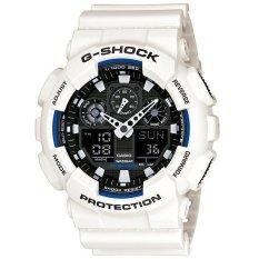 Diskon Besarcasio G Shock Ga 100B 7A Analog Digital Men S Watch White