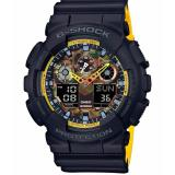 Jual Beli Casio G Shock Ga 100By 1A Jam Tangan Pria Black Yellow Strap Resin Lm Di Indonesia