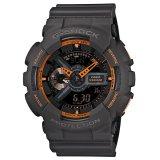 Jual Casio G Shock Ga 110Ts 1A4 Analog Digital Men S Watch Orange Murah Indonesia