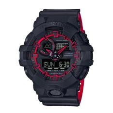 Jual Casio G Shock Ga 700Se 1A4Dr Jam Tangan Pria Black Red Strap Resin Lm Branded Murah