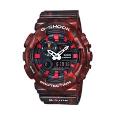 Casio G Shock GAX-100MB-4ADR - Jam Tangan Pria - Resin - Merah