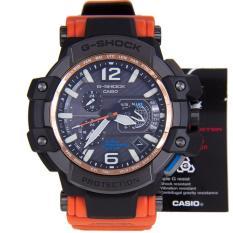 Casio G-Shock GPW-1000-1BDR Jam Tangan Pria Rubber Strap Hitam
